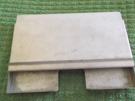 Service Station Credit Slip Holder and Tray in Metal-Generic - $35.00