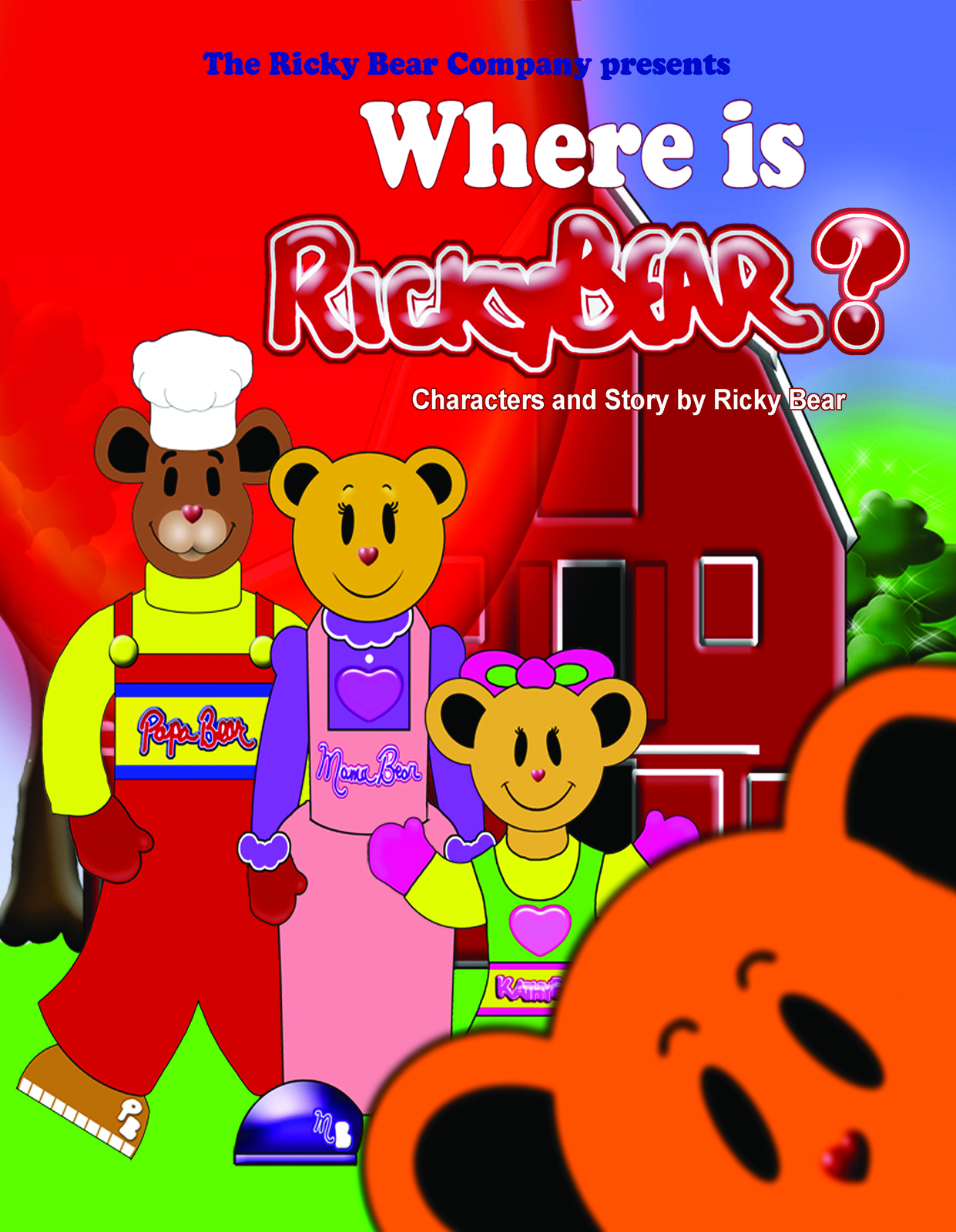 Where Is Ricky Bear? (Volume I) Paperback October 30, 2012 by Ricky Bear- Author