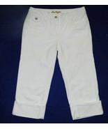 """Ann Taylor  Modern Fit White Capris Size 0  (29"""" x 18"""") NWT - $17.99"""
