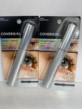 (2) Covergirl 810 BLACK BROWN Exhibitionist Mascara Longer Thicker Lash - $6.92