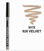 NYX 928 VELVET Eyeliner Eyebrow Pencil FULL SIZE - $3.65