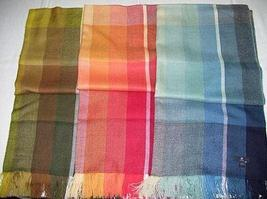 Shawls, 3 different colored scarves, Babyalpaca wool - $238.00