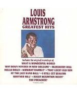 Louis Armstrong: Greatest Hits (used CD) - $7.00