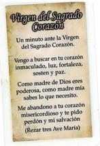 Necklace - Virgen del Sagrado Corazon Medal & Holy Card - L H125.1092D image 3