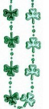 "Green Multi Shamrock St Patricks Day Mardi Gras Bead Clover Beads 36"" - €4,88 EUR"