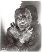 Wolfman Lon Chaney 1 Vintage 8X10 BW Monster Movie Memorabilia Photo - $6.99