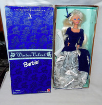 Barbie Doll Avon Winter Velvet Special Edition 1st Series 1995 Mattel #1... - $13.99