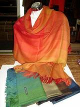 5 colored scarves, shawls made with Babyalpaca wool - $384.00