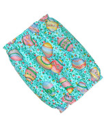 Dog Snood Easter Eggs Floral Cotton Puppy SHORT Cavalier King Charles Sp... - $9.50