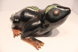 Unique Hard Ceramic Frog from Thailand - $86.89