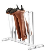 NEW Whitmor 6499-4342 Three Pair Boot Organizer, White - $17.99