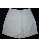 Liz Claiborne Lizwear Petite White Denim Shorts... - $3.00