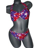 New GOTTEX swimsuit bikini D cup floral hawaiia... - $41.99