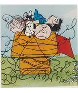 Peanuts  Dog Charlie Brown Comic Strip Vintage 8X10 Color TV Memorabilia... - $4.99