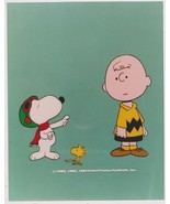 Peanuts Charlie Brown Woodstock Vintage 8X10 Color TV Memorabilia Photo - $6.99