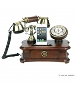 Pyle Authentic Classical Themed Home Telephone System - Integrated Speaker & 3.5 - $99.99