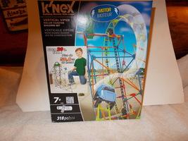 K'nex vertical Viper roller coaster 318 pieces Building set NIB - $34.99