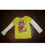 Girls Halloween Black Cat Mummy Pumpkin Boo Shirt Size 5T - €1,13 EUR