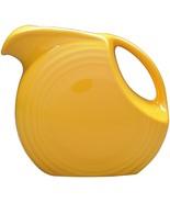 Fiesta large disc pitcher marigold thumbtall