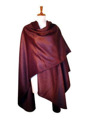 Primary image for Cape made of surialpaca wool, burgundy wrap