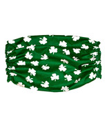 Dog Snood-Green White Shamrocks Cotton-Cavalier... - $9.50