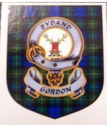 Gordon Clan Tartan Clan Gordon Badge Sticker - $5.50