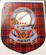 MacRae Clan Tartan Clan MacRae Badge Sticker - $5.50