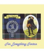 Colquhoun Clan Tartan Clan Colquhoun Badge Post... - $6.00