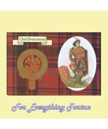 Drummond Clan Tartan Clan Drummond Badge Postcard - $6.00