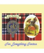MacBain Clan Tartan Clan MacBain Badge Postcard - $6.00