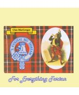 MacGregor Clan Tartan Clan MacGregor Badge Post... - $6.00