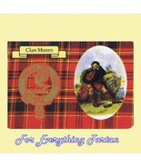 Munro Clan Tartan Clan Munro Badge Postcard - $6.00