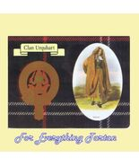 Urquhart Clan Tartan Clan Urquhart Badge Postcard - $6.00