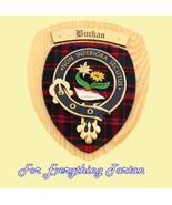 Clan Buchan Tartan Woodcarver Wooden Wall Plaqu... - $120.00