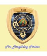 Clan Clark Tartan Woodcarver Wooden Wall Plaque... - $120.00
