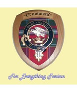 Clan Drummond Tartan Woodcarver Wooden Wall Pla... - $120.00