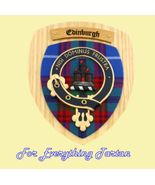 Edinburgh Tartan Woodcarver Wooden Wall Plaque ... - $120.00
