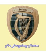 Your Surname Harp Irish Tartan Woodcarver Light... - $200.00