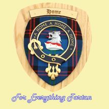 Clan Home Tartan Woodcarver Wooden Wall Plaque ... - $120.00