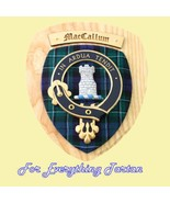 Clan MacCallum Tartan Woodcarver Wooden Wall Pl... - $120.00
