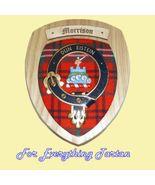 Clan Morrison Tartan Woodcarver Wooden Wall Pla... - $120.00