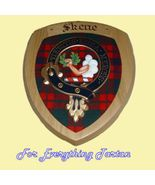 Clan Skene Tartan Woodcarver Wooden Wall Plaque... - $120.00