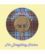 Clan Anderson Clan Crest Tartan Cork Round Coas... - $12.00