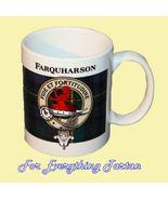 Farquharson Tartan Clan Crest Ceramic Mug Clan ... - $29.00