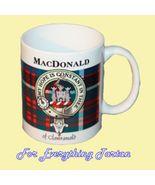 MacDonald Clanranald Tartan Clan Crest Ceramic ... - $29.00