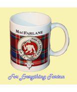 MacFarlane Tartan Clan Crest Ceramic Mug Clan B... - $29.00