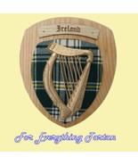Your Surname Harp Irish Tartan Woodcarver Light... - $200.00