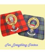 Clan Crest Tartan Badge Wooden Placemats Set of 4  - $60.00