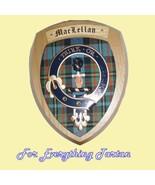 Clan MacLellan Tartan Woodcarver Wooden Wall Pl... - $120.00