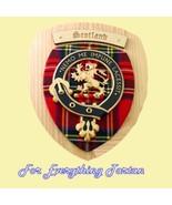 Scotland Tartan Woodcarver Wooden Wall Plaque S... - $120.00